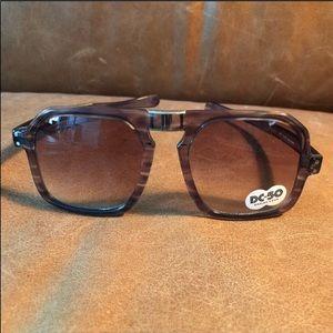 Vintage retro folding aviator sunglasses 😎